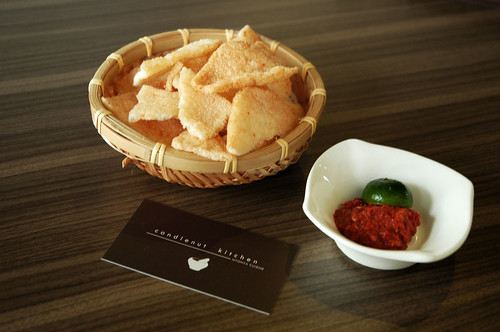 Candlenut Kitchen - Crackers & Dip