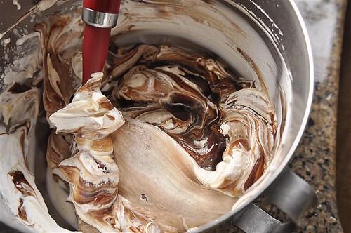 Chocolate Mousse Meringue Dessert