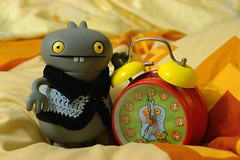 Uglyworld #967 - Babo Times (Project BIG 36-365) (www.bazpics.com) Tags: clock face cookies breakfast dinner project lunch tin cookie time famous dream dreams guide 365 amazed informative uglydolls babo wildest comprehension 2011 barryoneilphotography