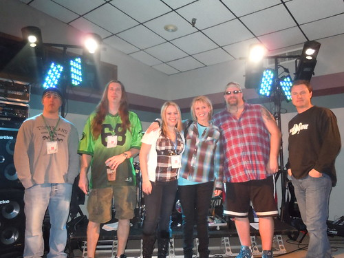 02/05/11 Division Nine @ Sarah Wierman Benefit, Clearwater, MN (/W/ Sarah & Mom)