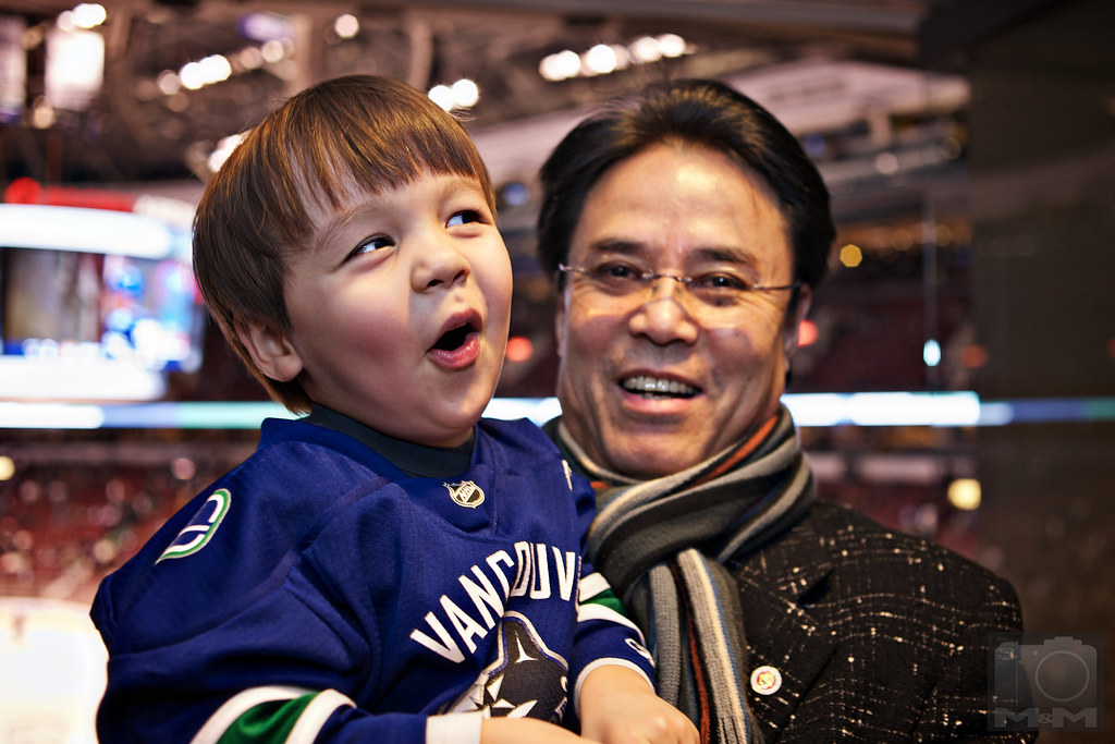 Malcolm's First NHL Game
