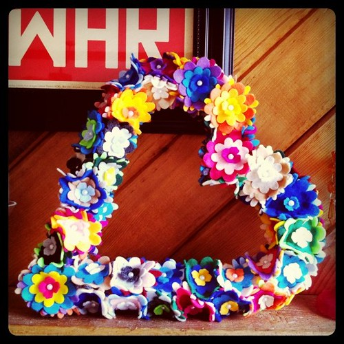 Valentine wreath from @ohmydeerlove <3