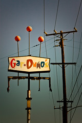 Gar-Duno's (TooMuchFire) Tags: signs typography rusty powerlines signage type lettering typeface midcentury lightroom oldtypography oldsigns vintagesigns sangabrielvalley rosemead gardunos vintagesignage canon30d midcenturytypography 1701potrerograndedrrosemeadca rosemeadsigns