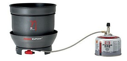 The Primus EtaPower stove.