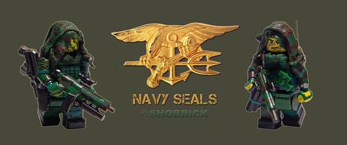 Custom minifig Navy seals jungle custom minifigs
