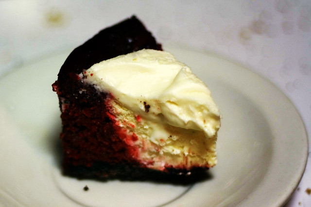 Day 167 - Red Velvet Cheesecake
