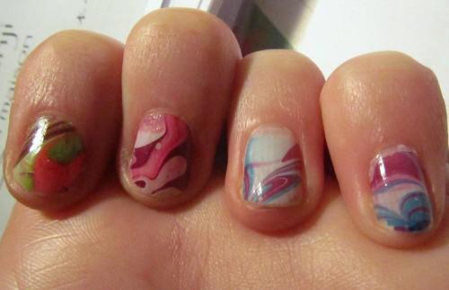 marble nail art-97