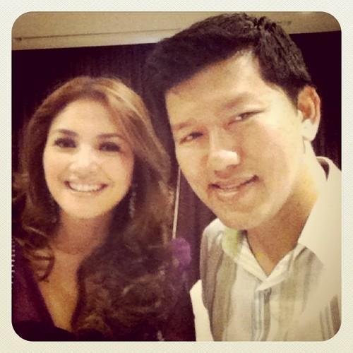 Me & Duta Terbaru LUX... Nur Fazura. Congrats @missfazura