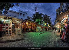 296/365 - HDR - Crete.Evening.II.@.1250x825 (Pawel Tomaszewicz) Tags: camera blue light summer wallpaper sky holiday colors beautiful architecture night clouds photoshop canon greek eos photo europe foto view angle image photos wide picture wideangle ps images x fisheye greece hour crete 1200 fotografia 800 hdr hdri 2010 aparat iphone pawel rethymnon  ipad kriti architektura  chmury rethimnon 3xp grecja photomatix   greatphotographers wyspa  wyspy 1200x800 fotografowie polscy  tomaszewicz paweltomaszewicz