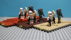 What is the best Lego Geonosis? (Film Hero Productions™) Tags: colour star lego best what wars title clone diorama moc geonosis
