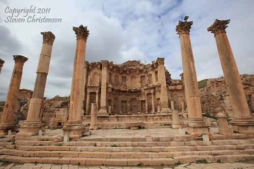 Nymphaeum in Jerash [C_020404]