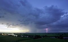 (adamfaulknergraphics) Tags: sunset sky storm clouds river dusk australia richmond newsouthwales lightning woodburn bundjalung adamfaulkner faulknergraphics adamfaulknergraphics