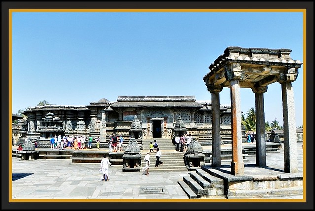 Chennakesava temple at Belur