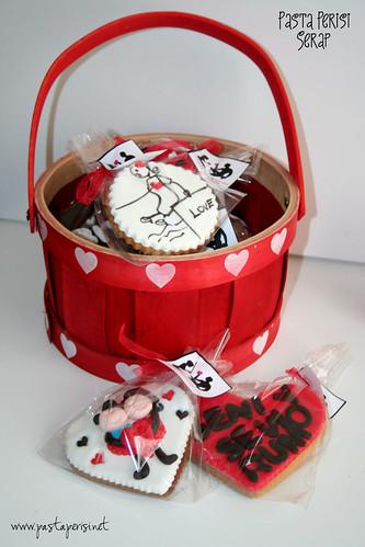 Sevgililer günü-kurabiye