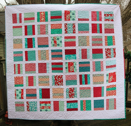 Mixtape quilt closeup