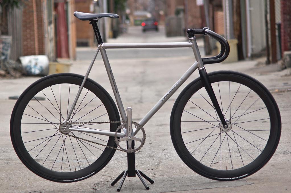 Fixed Gear Blog: Titanium Track Bikes