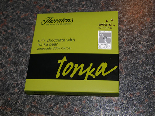 Thorntons 38% Venezuelan Tonka Bean Milk Chocolate