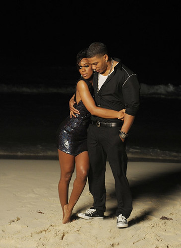 Nelly And Kelly Rowland Gone video shoot