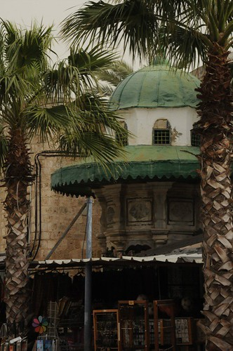 Entrance to Mosque of Al-Jazzar