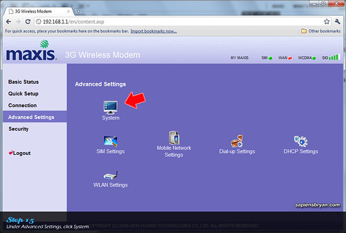 Securing Wireless Network Using Maxis WiFi Modem Step 15