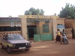 l'hôpital de Mopti