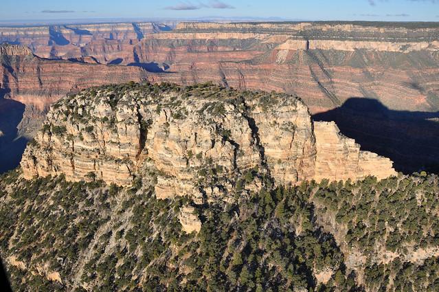 Grand Canyon DEIS Aerial Dragon Head by Grand Canyon NPS