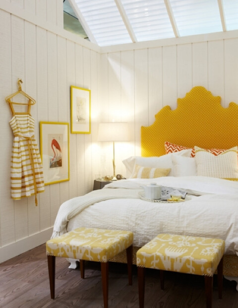 Interior Home Ideas, Interior design, Bedroom ideas, Yellow Bedroom_via sarahrichardsondesign