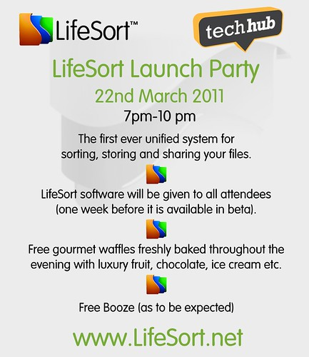 LifeSort Launch Party at TechHub