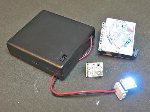 BlinkM Battery Pack, works on all kinds of BlinkMs