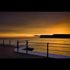 Huntcliff Sunrise, Saltburn-By-The-Sea (68lbs_on_flickr) Tags: uk england sunrise coast explore teesside huntcliff saltburnbythesea explored saltburnpier