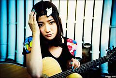 album cover shooting - Pixie Tea *9 (Twiggy Tu) Tags: china portrait film lomo lca beijing singer 2010 twiggyphoto  pixietea albumcovershooting