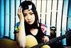 《我的上升是白羊座》album cover shooting - Pixie Tea *9 (Twiggy Tu) Tags: china portrait film lomo lca beijing singer 2010 twiggyphoto 張萱妍 pixietea albumcovershooting