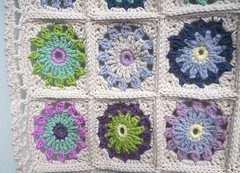 flower blanket detail (baban cat) Tags: detail wales handmade border crochet blanket throw shabbychic organiccotton