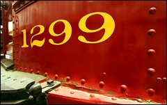 Red Car -- Yellow Numbers (greenthumb_38) Tags: california railroad red yellow museum train number numbers 1022mm perris canonefs1022mmf3545usm oerm orangeempirerailwaymuseum pacificelectric canon40d pe1299 jeffreybass