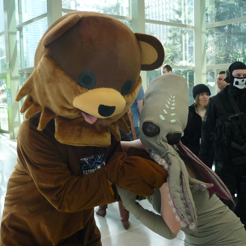 Emerald City ComiCon - Tentacle Time with Pedobear