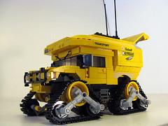 Arctic Humvee