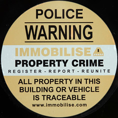 IMMOBILISE PROPERTY CRIME