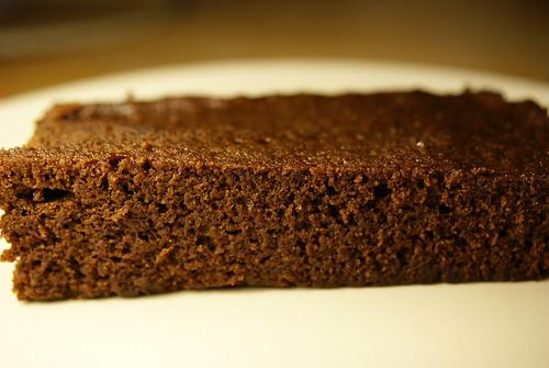 Pastís de xocolata fet al microones