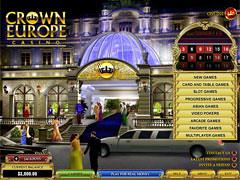 Crown Europe Casino Lobby