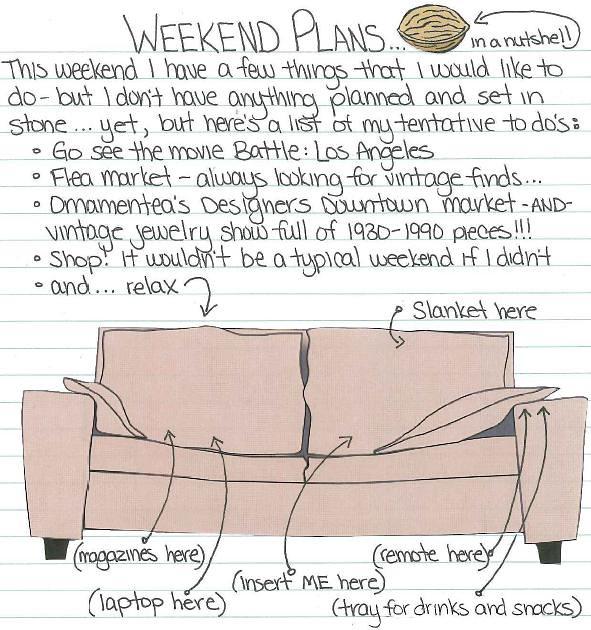 weekend plans 3.11.11