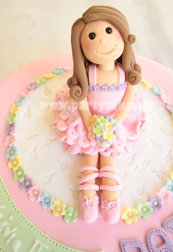 Sweet Ballerina cake
