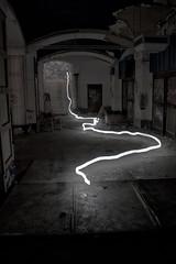 (nifs!) Tags: lightpainting abandoned fire decay dwcfflightpaint