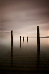 'Dream-Scene' - Rhos-On-Sea Jetty (Kristofer Williams) Tags: longexposure sea water jetty sony poles waterblur rhosonsea dreamscene nd110 tamorn 1024mm a550