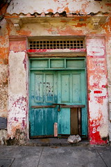 Doors of Cartagena: Turquoise & Red (Bryan Pocius) Tags: colombia doors cartagena