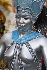 Carnaval prateado (Boarin) Tags: pessoa mulher carnaval prata nua