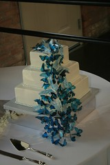 "Butterflies wedding cake • <a style=""font-size:0.8em;"" href=""http://www.flickr.com/photos/60584691@N02/5524764177/"" target=""_blank"">View on Flickr</a>"