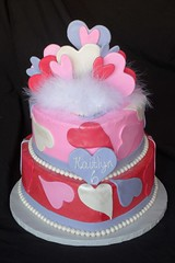"Hearts, hearts and more Hearts birthday cake • <a style=""font-size:0.8em;"" href=""http://www.flickr.com/photos/60584691@N02/5525361400/"" target=""_blank"">View on Flickr</a>"