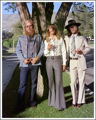 Tres Hippies, El Paso, September, 1975 (spysgrandson--thanks for 1,000,000 views!) Tags: wedding hippies beard longhair hippy elpaso 1975 70s hippie 1970s weddingday seventies counterculture bellbottoms elpasotexas longhairedmen restoredphoto restoredimage hippiewedding kernplace madelinepark bellbottompants beardedhippie longhaironmen seventiesstyles 70scounterculture threehippies madelineparkelpaso ebaltimoredrive ebaltimoredriveelpaso