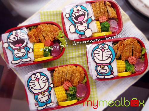 Assorted Doraemon bento
