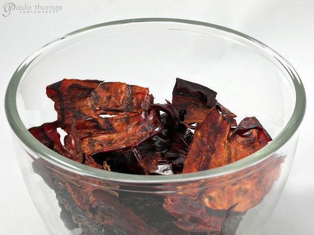Toasted New Mexico and Ancho Chiles